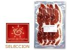 Hinterschinken mit Herkunftsbezeichnung Huelva-Jabugo Selección Cebo - aufgeschnitten