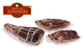 Hinterschinken mit Herkunftsbezeichnung Extremadura Bellota - ohne Knochen