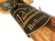 Siegel und Banderole der Schinken mit Bellota Qualität